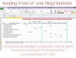Free Simple Bookkeeping Spreadsheet Household Budget Spreadsheet Monthly Template Monthly Spreadsheet