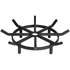 Firepit Grate 20 Inch Heavy Duty Wagon Wheel Pit Grate Federated Trade