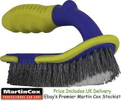 cox upholstery professional quality large stiff bristle upholstery carpet brush car
