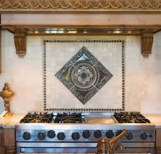 kitchen backsplash metal medallions picturesque kitchen metal medallions for backsplash fanabis at