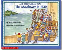 thanksgiving books if you sailed on the mayflower in 1620