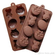 easter chocolate mould diy baking molds cup silicone rubber