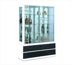 Black Cabinet With Glass Doors Bathroom Cabinet With Glass Doors