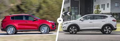 hyundai jeep models kia sportage vs hyundai tucson comparison carwow