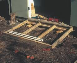 diy ramp for shed do it your self diy