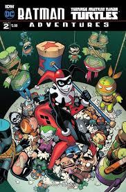 batman tmnt adventures 2 u2013 idw publishing