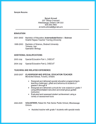resume exles special education aide duties book reports review ideas pinterest special needs educator resume