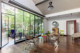 exceptional loft expanding the entire floor with a garden and exceptional loft garden garage for sale 5th arrondissement