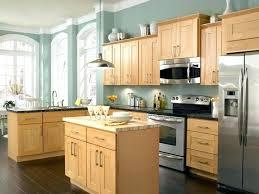 Light Oak Kitchen Light Oak Kitchen Cabinets Wood Cabinet For Image