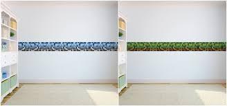 Childrens Bedroom Borders Stickers Pixels Design Children U0026 039 S Bedroom Wallpaper Border Self