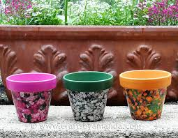 Decorating Clay Pots Kids Seed Packet Decoupage Clay Pots Recipe Seed Packets Decoupage