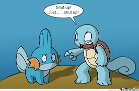 mudkip is better than squirtle by reuel meme center