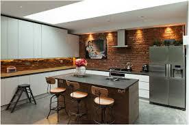 küche ideen moderne küchen und innere ziegelwand design ideen