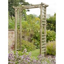 how to build a garden arch trellis the garden inspirations