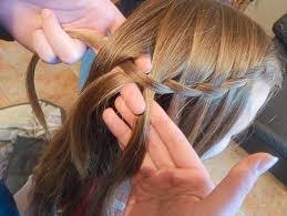 Frisuren Lange Haare Wasserfall by Flecht Tutorial Die Berüchtigte Wasserfall Frisur