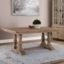uttermost 24557 stratford salvaged wood dining table homeclick com
