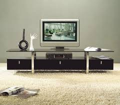 Black Tv Cabinet With Drawers Classy White Painted Pine Wood Tv Stand With Storage Drawers Of