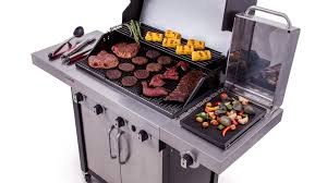 char broil commercial series 4 burner gas grill lowe u0027s exclusive