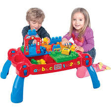 my first mega bloks table mega bloks first builders build n learn table plus bonus play set