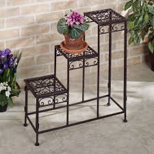 Flower Pot Holders For Fence - plant stand boy flower pot holders metal with legs for fences