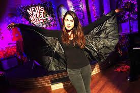 halloween diy costume of the day bat wgno