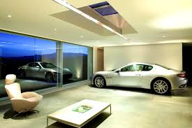 furniture scenic garage design modern villa midgard infinity
