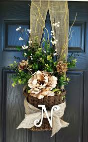 best 25 initial wreath ideas on pinterest letter door wreaths