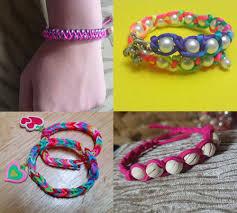 easy bracelet images 4 easy diy bracelet projects easy handmade jewelry for girls jpg
