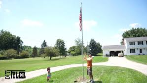 Automatic Flag Pole Do It Yourself 130 Flag Pole Diytyler