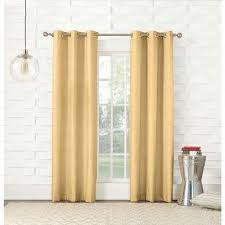 Yellow Brown Curtains Solid Gradient Yellow Curtains Drapes Window Treatments
