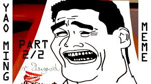 Jao Ming Meme - how to draw memes meme faces step by step easy yao ming meme