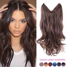 Aliexpress Com Hair Extensions by Buy One Piece 20 Inch Invisible No Clip Dark Brown Ombre Brazilian