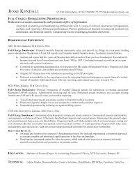 Bookkeeper Sample Resume Sample Resume For Bookkeeper Accountant Sample Resume Sample