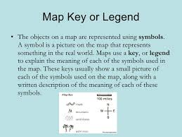 what is a map legend geo skills 2 parts of a map