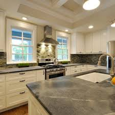 Best Soapstone Sinks  Countertops Images On Pinterest - Soapstone backsplash