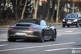 porsche 911 carrera gts cabriolet porsche 991 carrera gts cabriolet 12 february 2017 autogespot