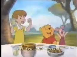 a winnie the pooh thanksgiving promo 1998