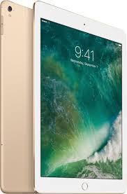 apple 9 7 inch ipad pro with wi fi cellular 128gb gold mlq52ll