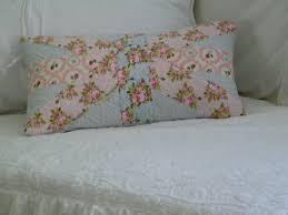 Blue Union Jack Cushion Maison Decor Shabby Chic Union Jack Pillow