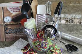 bridal shower gift baskets 14 easy crafts and gifts for cooks and bakers diy gifts for