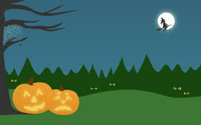new autumn desktop wallpaper u2013 halloween u2013 calobee doodles