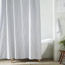 White On White Shower Curtain The 12 Most Beautiful Shower Curtains Photos Architectural Digest