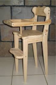 Antique Wooden High Chair Brilliant Wooden Doll High Chair Plans And Santas Workshop Fpudining