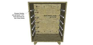 Diy Furniture Plans by Free Diy Furniture Plans How To Build A Vodder Chest Of Drawers