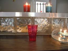 brique de verre cuisine bar en briques de verre idées novatrices de la conception et du