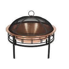 Copper Firepit Cobraco Copper Mission Pit Fbcopmisn C Garden