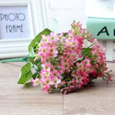 silk home colorful silk home decoration artificial baby breath flower 3 93