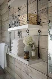 Storage Idea For Small Bathroom by Best 25 Small Bathroom Shelves Ideas On Pinterest Corner