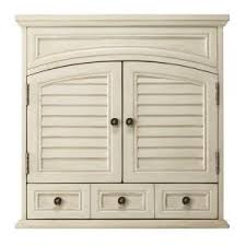 home depot bath wall cabinets cape cod 25 in w wall cabinet in antique white 1208900560 at the