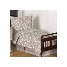 Giraffe Bed Set Sweet Jojo Designs Giraffe 5 Toddler Bedding Set Reviews